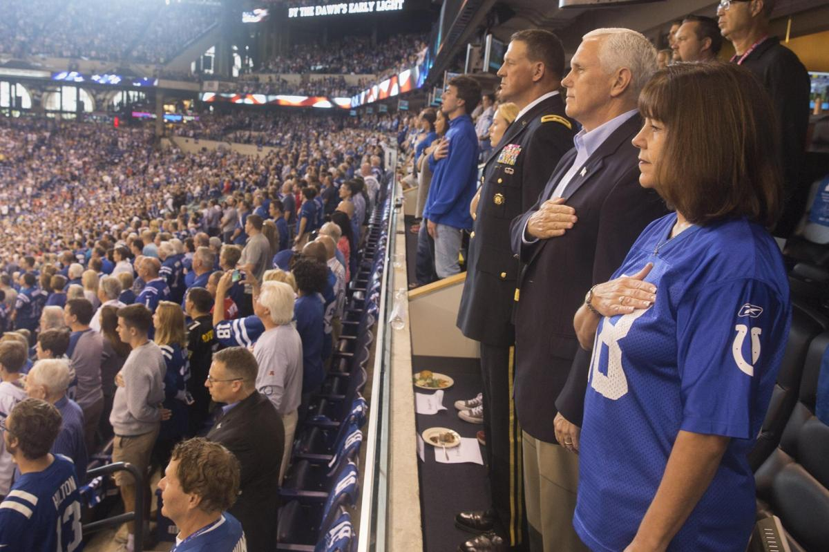 Was Pence's NFL walkout a planned political stunt?